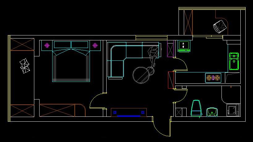 小平米房屋设计