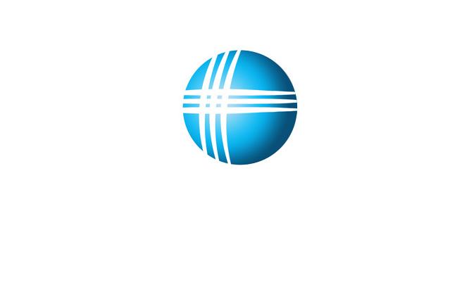 设计新时代电脑连锁logo和招牌名片