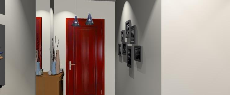 现金120平米三室两厅室内装修效果图及施工图