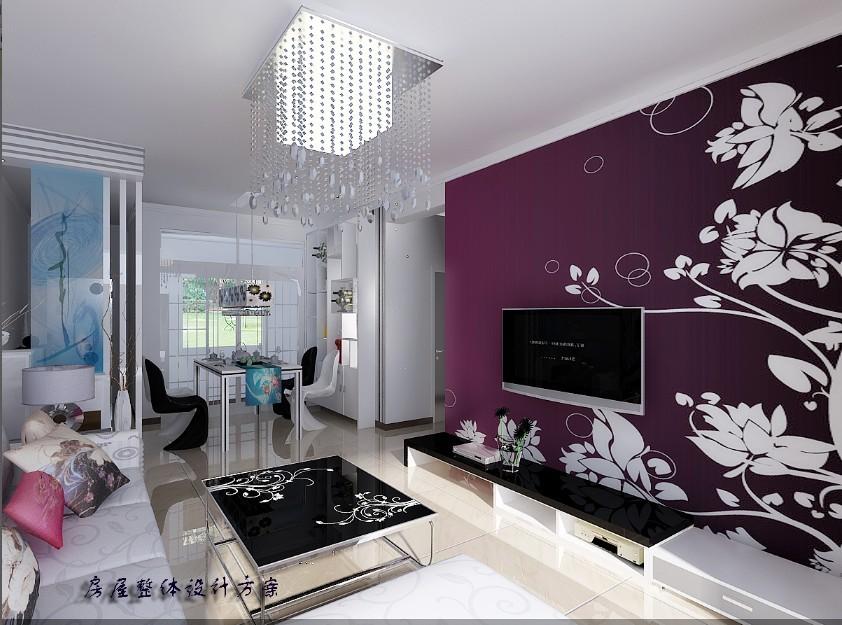 120平米三室两厅室内装修效果图及施工图