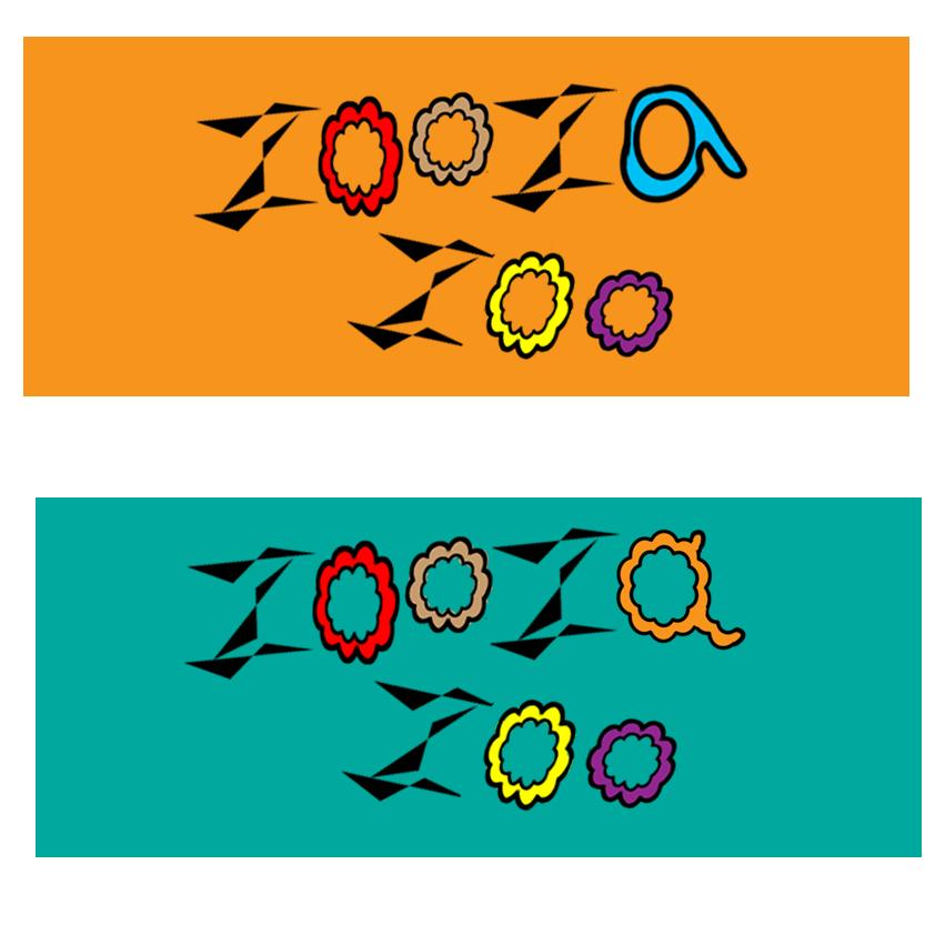 zoozazoo字体logo设计