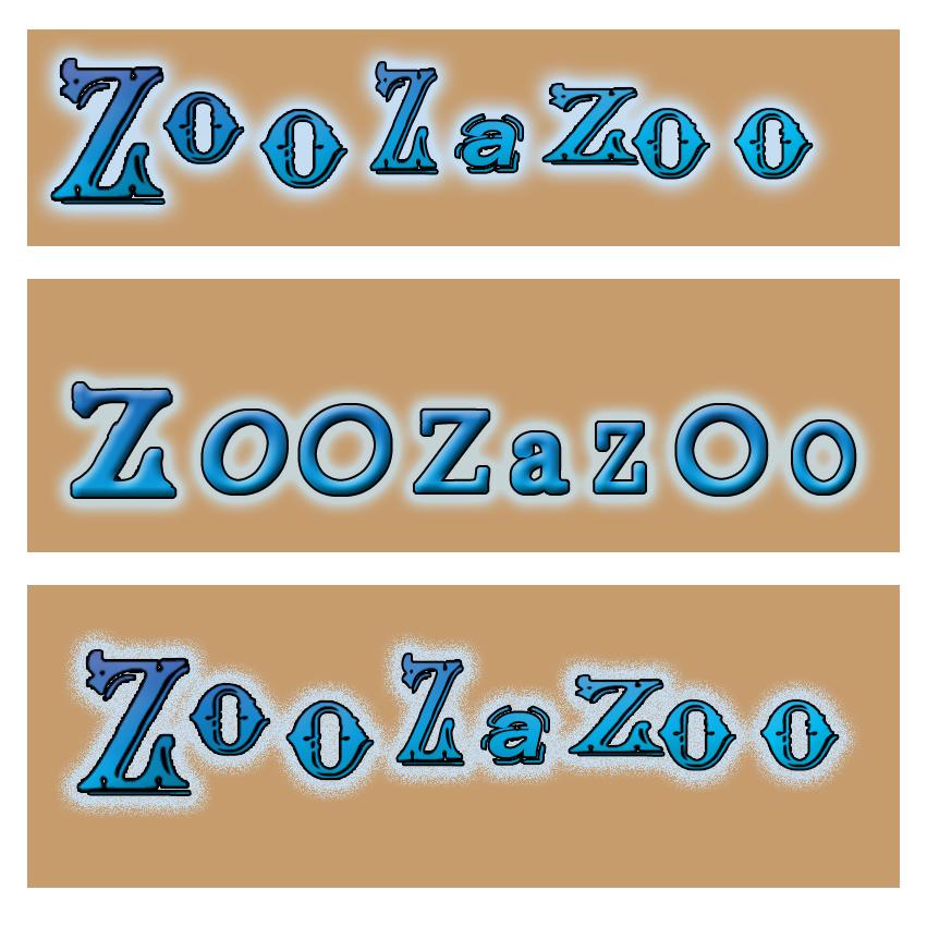 瘦到90斤稿件_zoozazoo字体logo设计_k68