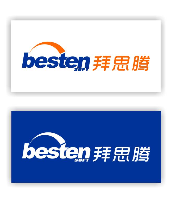 拜思腾,软件公司logo设计