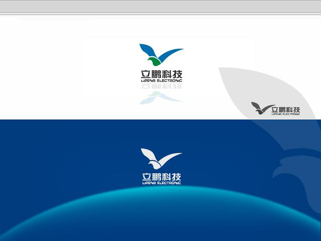 操?yf?yi)?im??il_立鹏电子科技公司logo设计- 稿件[#2503066]