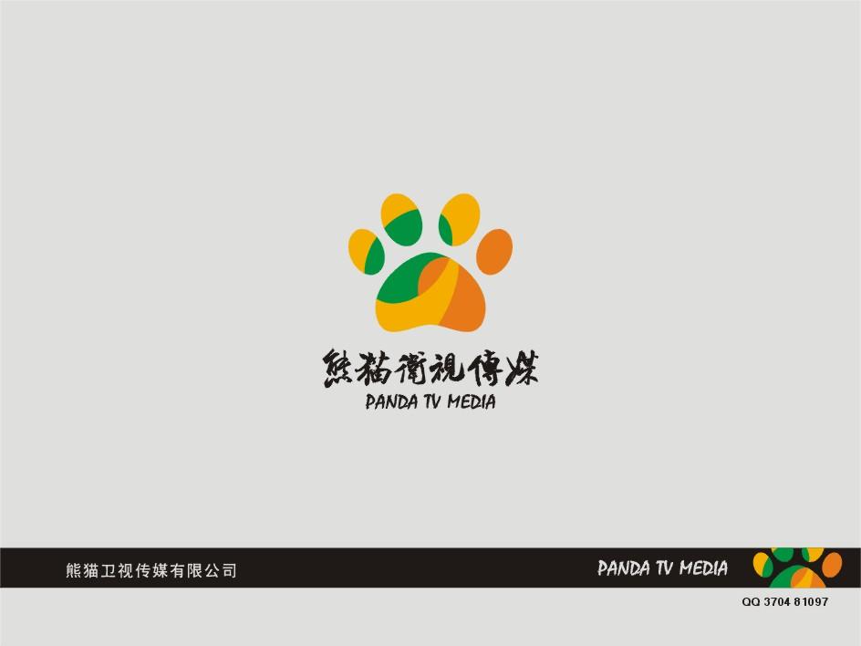 请设计logo:熊猫卫视传媒有限公司图片