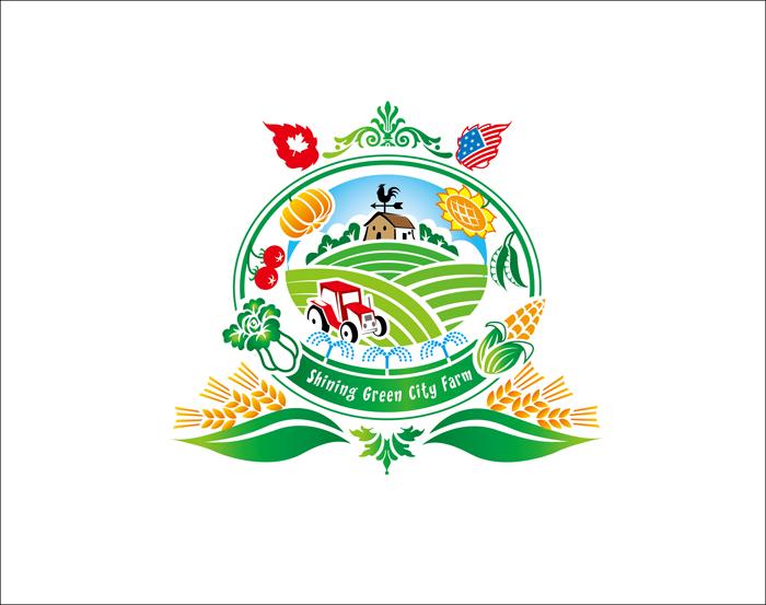 有机农产品公司logo设计