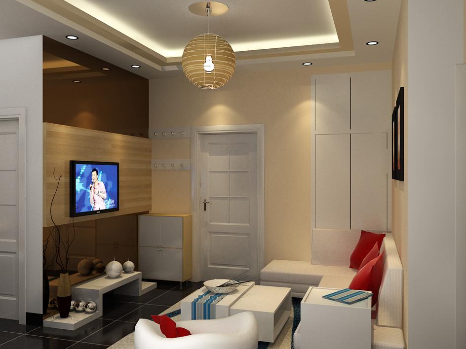 70平米两室两厅装修效果图设计500元 2010-8-15-家居装修效果图大全