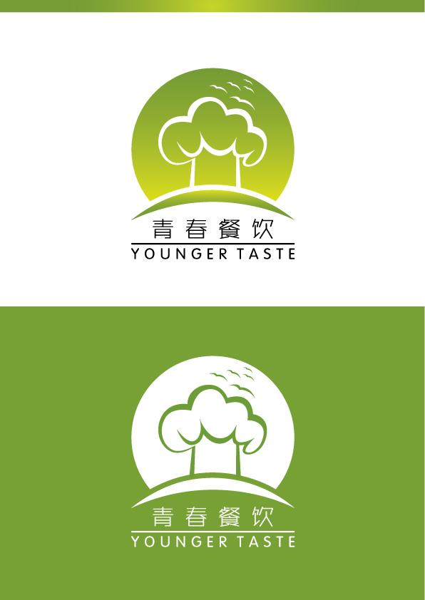 青春 餐饮LOGO设计图片