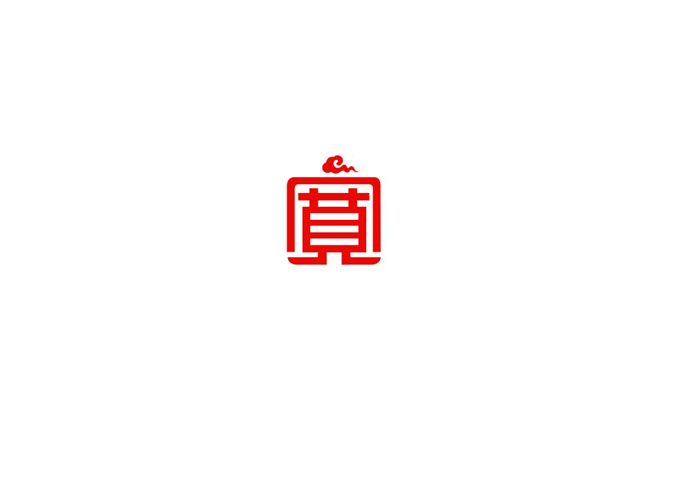 建院食堂的logo设计图
