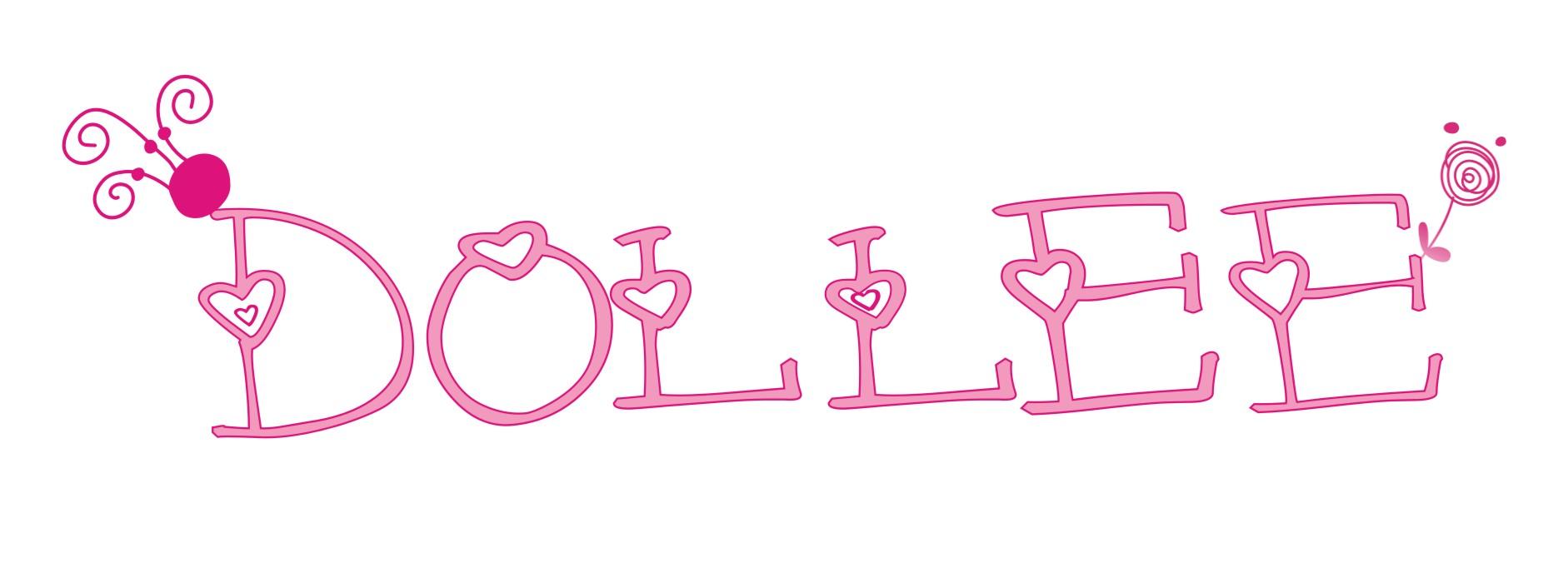 dollee logo设计,风格甜美系