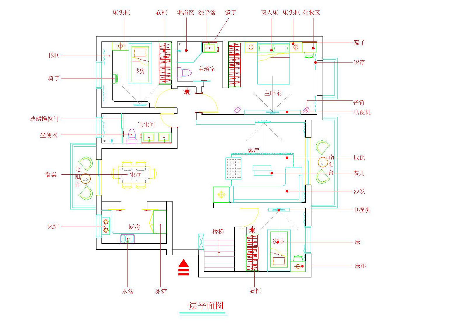 房子电路接线图