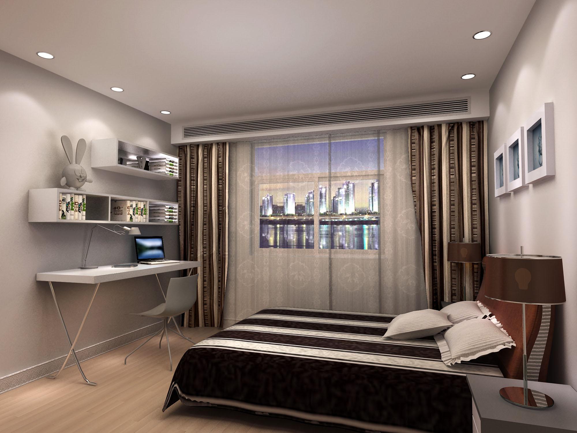 三室两厅房屋装修设计方案 1000元 16376号任务 k68创意