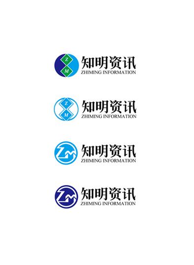 武汉知明资讯科技有限公司logo设计_2670725_k68威客网
