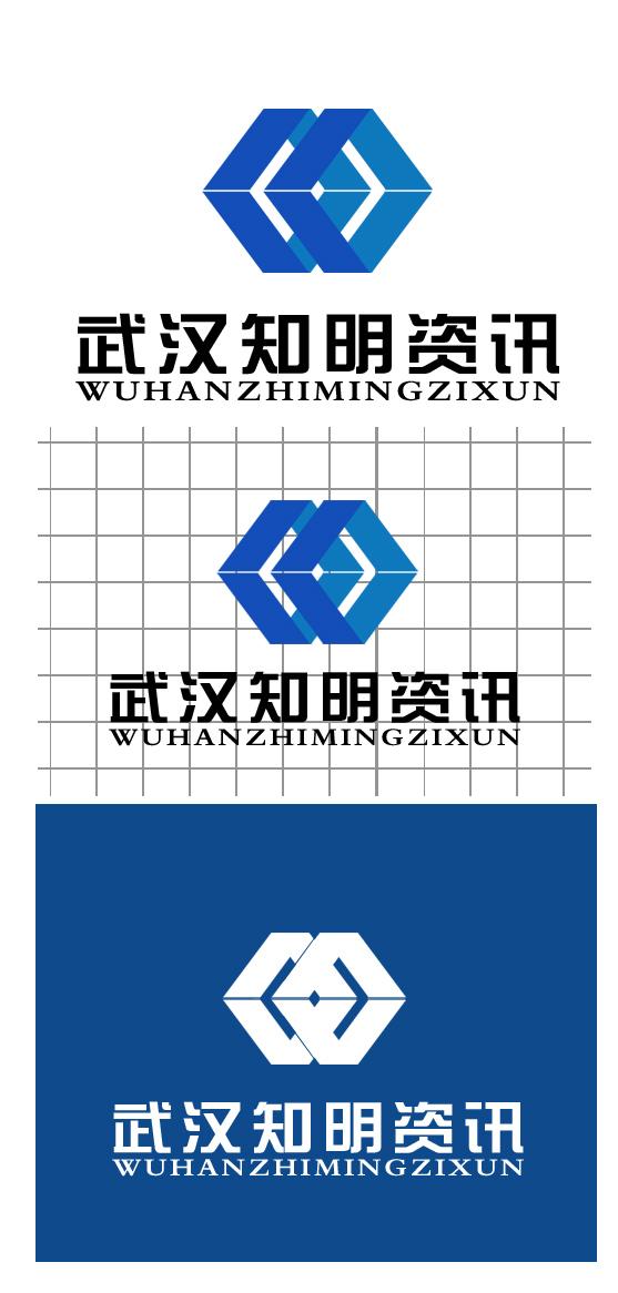 武汉知明资讯科技有限公司logo设计_2656930_k68威客网
