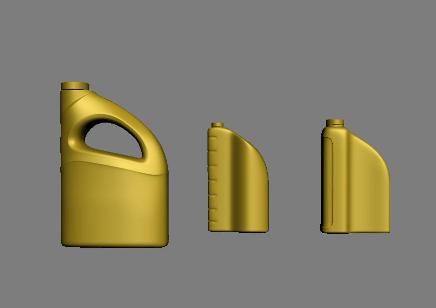 润滑油机油瓶型外观设计