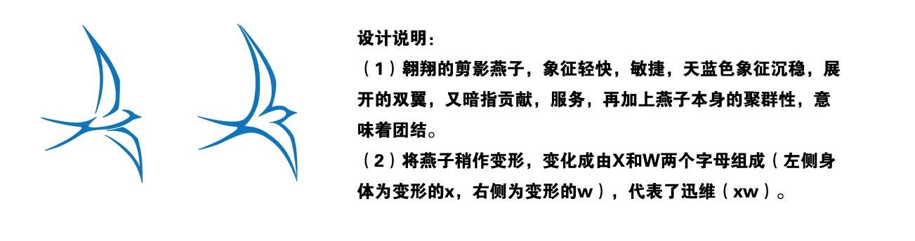 """金榜题名: 征集公司logo及名片 此次征集logo,思路建议 以动物""""燕子"""""""