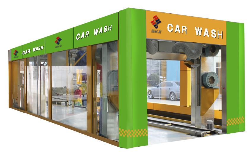 电脑全自动洗车设备外观设计