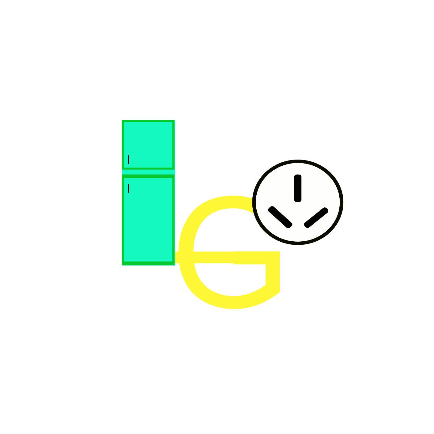 英文象形logo.