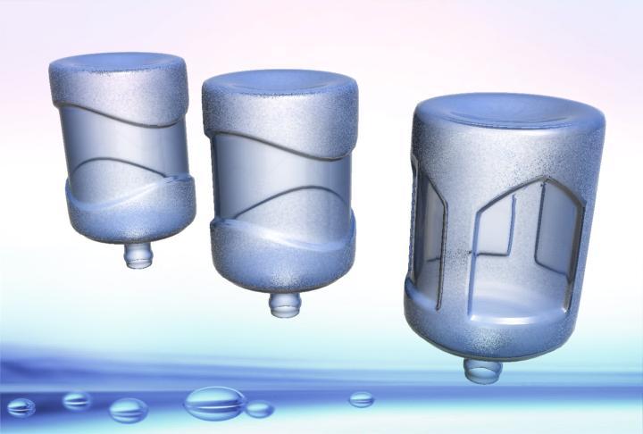 16889号-矿泉水 5加仑桶的外观造型设计-中标