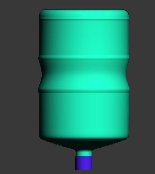 桶形设计(桶装水 水桶)高度48cm直径28cm