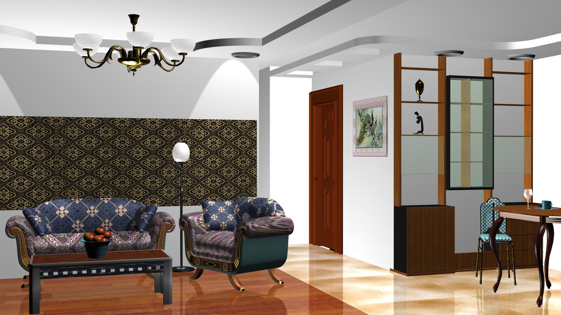 设计房屋装潢效果图