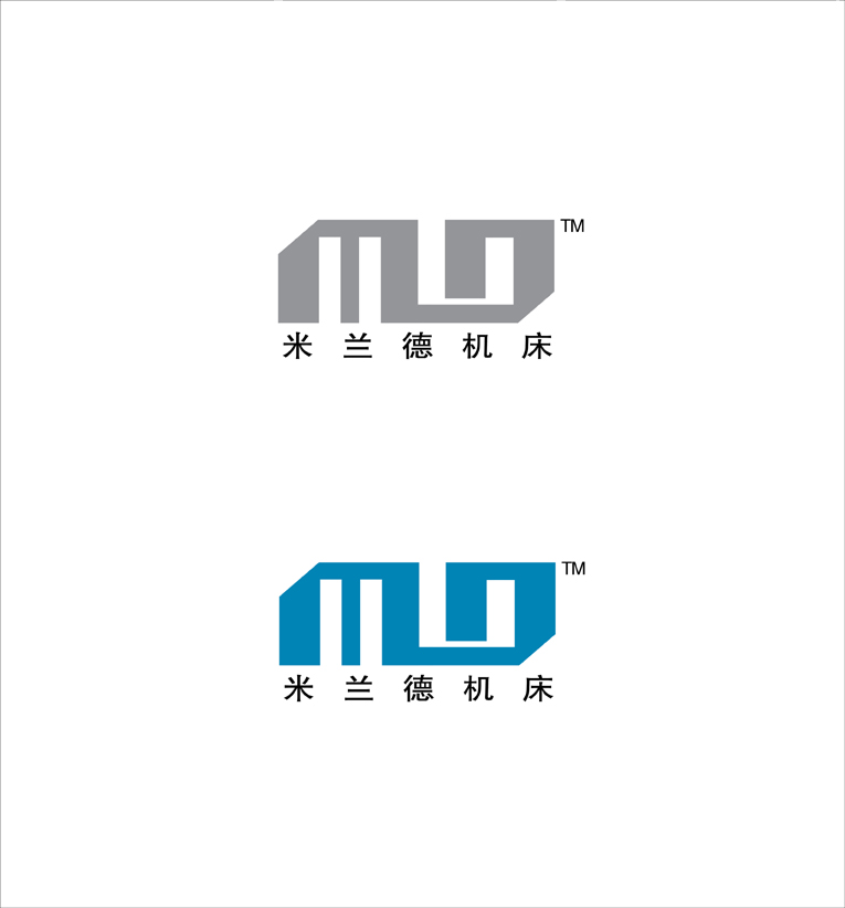 烟台米兰德数控机床有限公司logo设计