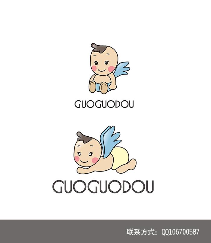 婴儿房间装饰品 品牌logo设计