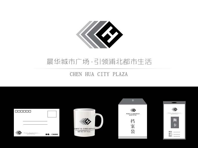 晨华城市广场logo设计征集_10000元_k68威客任务