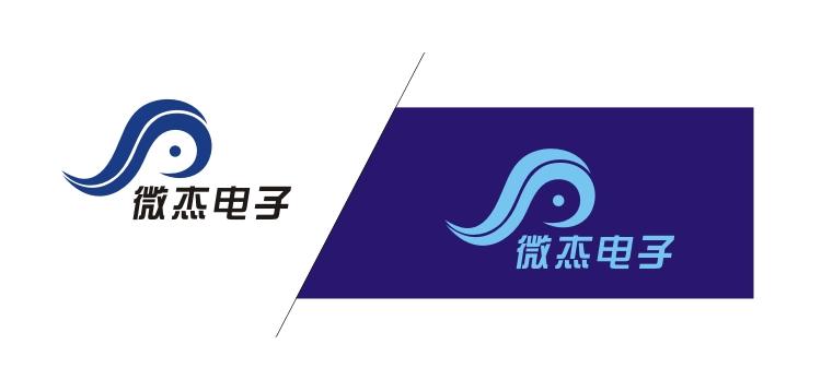 广州市微杰电子科技有限公司logo设计