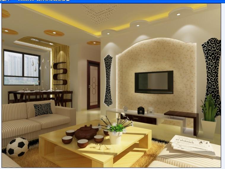一楼家装设计(附现场图片 平面图