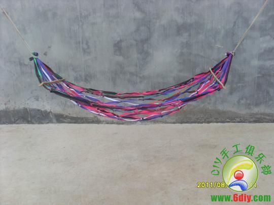 求:网状吊床的手工编织方法(视频或详细操作步骤