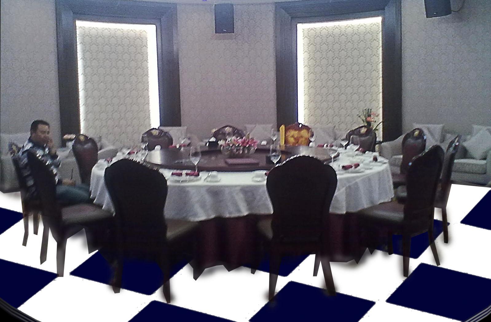 某酒店餐饮包房室内地面石材设计效果图 220元 K68威客任务