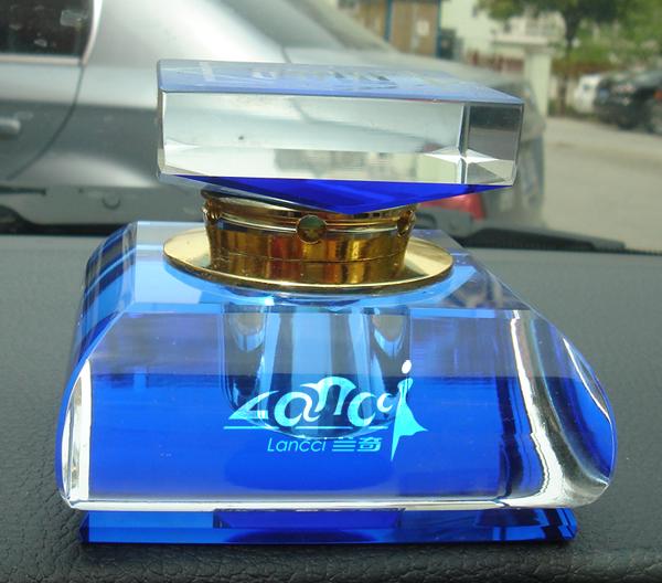 汽车香水品牌lancci(兰奇)logo设计