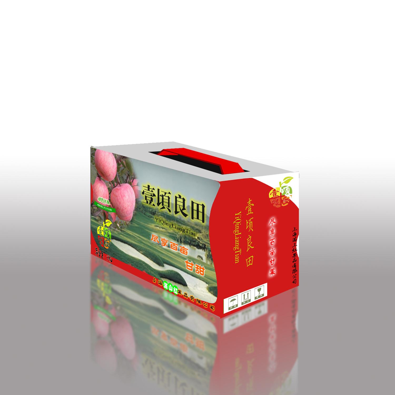 苹果(水果)外包装箱设计
