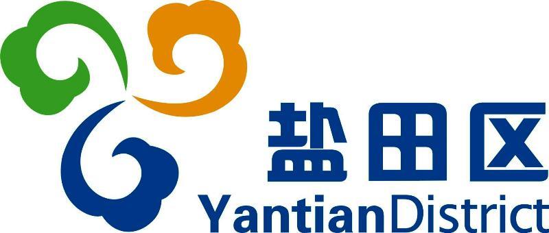 """本次的Logo主要用于上文所提的""""深圳市盐田区政府在线网站"""".设计"""